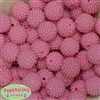 20mm Pink Berry Beads
