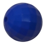 20mm Royal Blue Faceted Bead