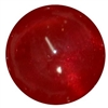 Red Frosted Bead