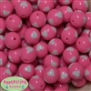 20mm Pink Heart Shaped Beads