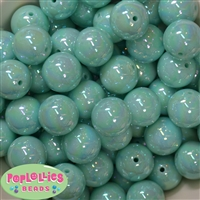20mm Mint Green Miracle Beads