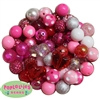 Valentines 120 piece Bead Set