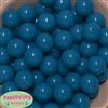 20mm Neon Blue Bubblegum Beads Bulk
