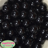 Bulk Black Faux Pearl Beads