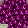 Bulk Bright Pink Pearl Beads