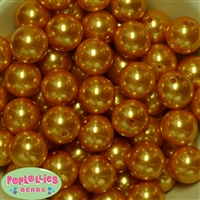 20mm Gold Pearl Beads