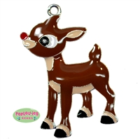 Rudolph the Red Nosed Reindeer Enamel Pendant