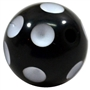 Black Polka Dot Bead