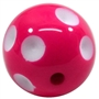 Hot Pink Polka Dot