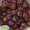 Bulk 20mm Halloween Confetti Rhinestone Beads