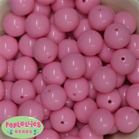 20mm Baby Pink Gumball Beads