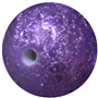 20mm Purple Stardust Bead