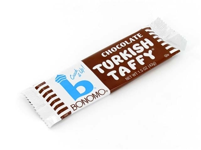 Bonomo Turkish Taffy Chocolate - 24/box