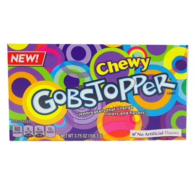 Gobstoppers Chewy Theater - 12/case