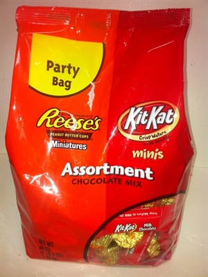 Reese's PB Cup & Kit Kat 40oz bag