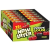 Now and Later Changemaker Extreme Sour - Cherry - 24/box