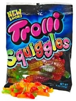Trolli Gummi Neon Squiggles 4.25oz Bag
