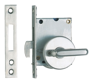 Sliding Door Latch Large Lever Stainless Steel