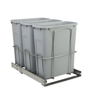 Triple Pull Out Waste Container BB Soft Close