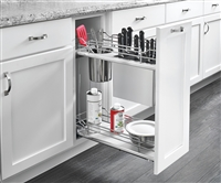 "Soft Close Base Organizer w/ Knife Block and Bin (21"" H x 22 3/8"" D)"