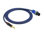 "Straight 1/4"" TS to Speakon Cable 