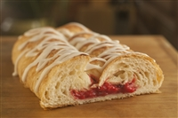 Strawberry Cream Cheese Braided Pastry