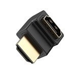 HDMI Male To HDMI Female 90°