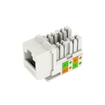 Lt. Almond Keystone Cat5e UL Listed Data Jack