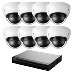 8 Channel 2TB NVR Kit with (8) 4MP IP Cameras