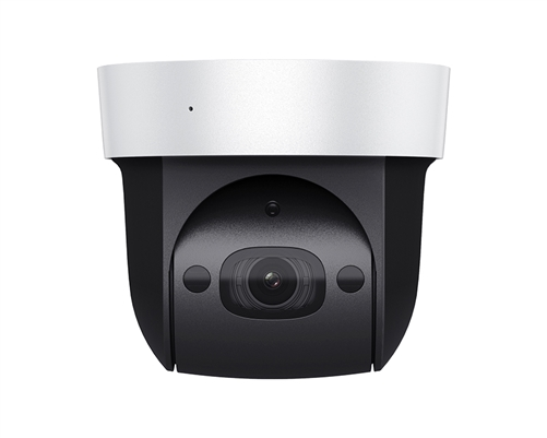 2MP WDR IP PTZ Mini-Dome Camera, 4X Lens, P2P, PoE