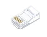 RJ45 Cat5e Modular Plug Solid (100 Pack)
