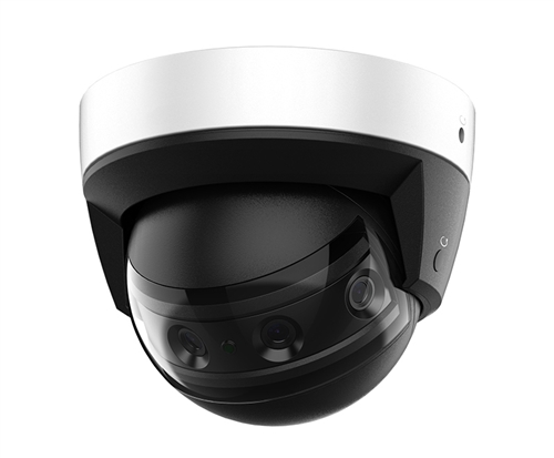 4x2MP Multi-Sensor Panoramic IR Dome Camera