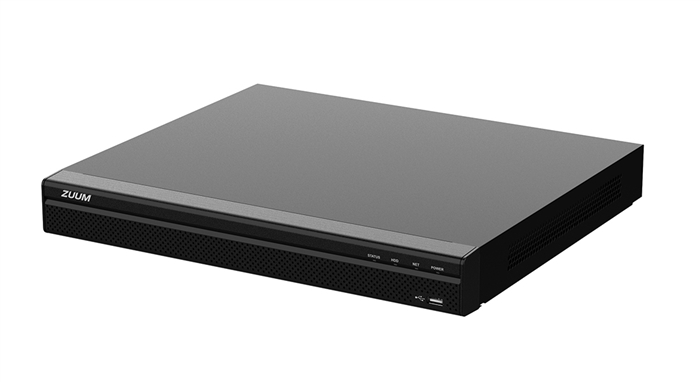 8CH 1U 8PoE 4K, H.265+ PRO Network Video Recorder (No HDD)