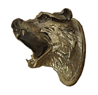 Bear Head with open mouth