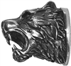 #107 Pommel. Tiger head