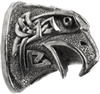 #125 Pommel. Celtic Eagle Head