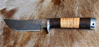 Hand forged Damascus Hunting Knife