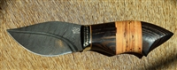 """Birch Leaf"" Neck Knife"