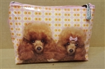 Mr & Mrs Poodle Small Bag