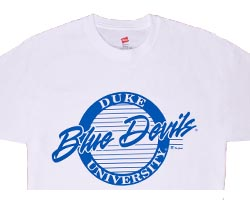 Duke BlUE DEVILS Circle T-Shirt