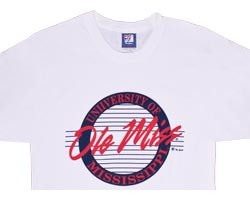 Mississippi OLE MISS Rebels Circle T-Shirt