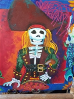 Muerto Pirate in Hat