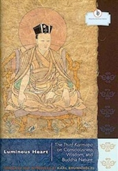 Luminous Heart: The Third Karmapa on Consciousness, Wisdom  and Buddha Nature by Karl Brunnholzl
