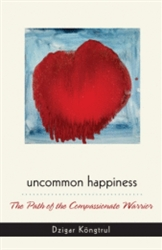 Uncommon Happiness: The Path of the Compassionate Warrior by Dzigar Kongtrul Rinpoche