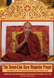 Seven-Line Guru Rinpoche Prayer DVD, by His Holiness The 17th Karmapa
