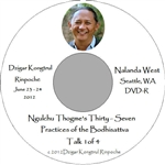 Ngulchu Thogme's 37 Practices of the Bodhisattva, by Dzigar Kongtrul Rinpoche