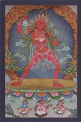 Dhatvishvari Meditation Card - Restricted
