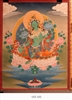 Thangka, Original Painting by RD Salga, Green Tara