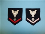 0928 US Navy WWII Third 3rd Class Dog Handler Rate (Wool) PC12