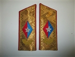 b7687 Cuba Cuban Fidel Castro Shoulder Boards for Dress Tunic pair WC1